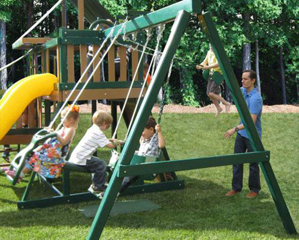 How to choose the perfect location for your swing sets with monkey bars