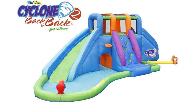 buy cyclone inflatable water park for kids at low cost