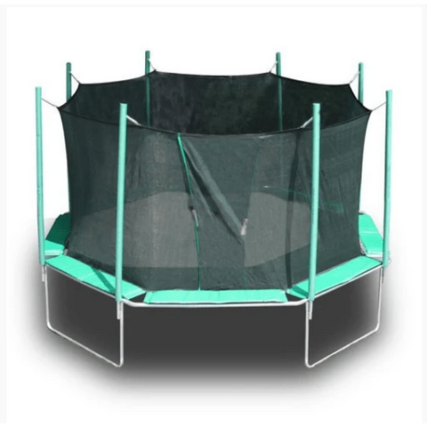buy trampoline online with safety net