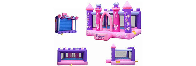 princess party indoor jump house for kids