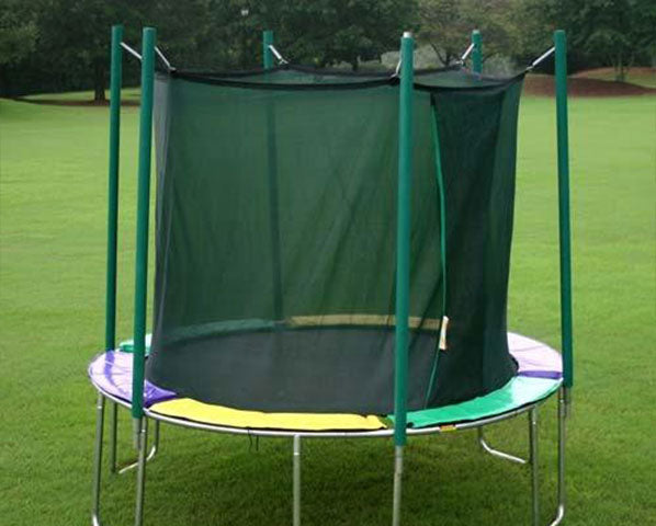 Magic Circle 12' Round Trampoline with Safety Enclosure