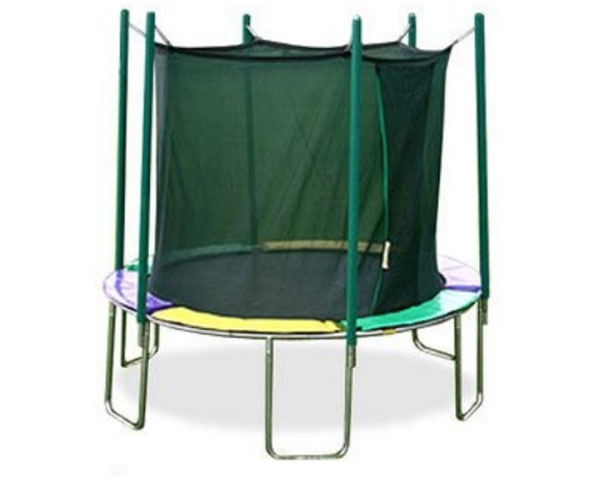 Magic Circle 10 ft Round Trampoline with Safety Enclosure