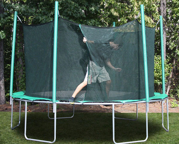 Magic Circle 13.5' Round Trampoline with Safety Enclosure