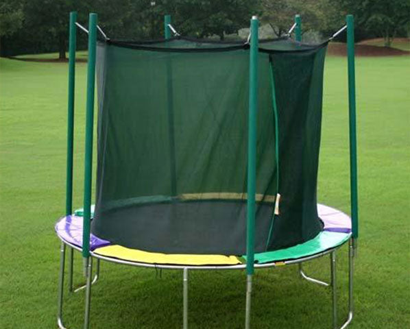 Magic Circle 12 ft Round Trampoline with Safety Enclosure