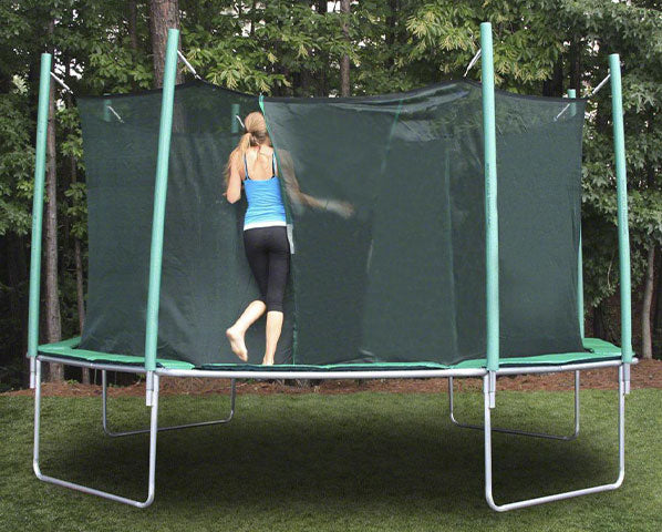 Magic Circle 16' Octagon Trampoline With Safety Enclosure