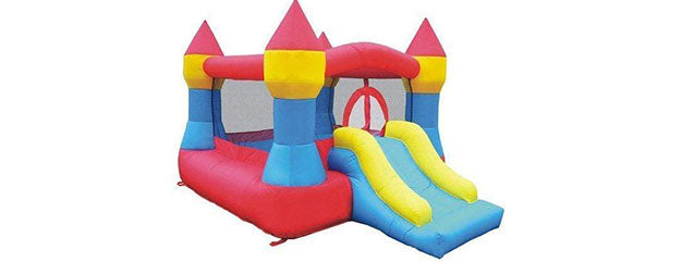 castle bounce house for indoor use