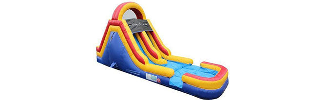 obstacle wet n dry slides for kids and adults