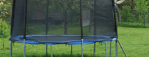 round shape trampoline for kids and adults