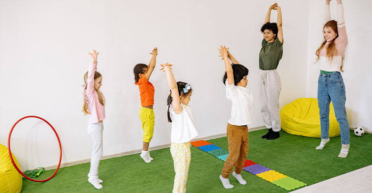 Some exciting kid exercise songs to encourage them to be fit