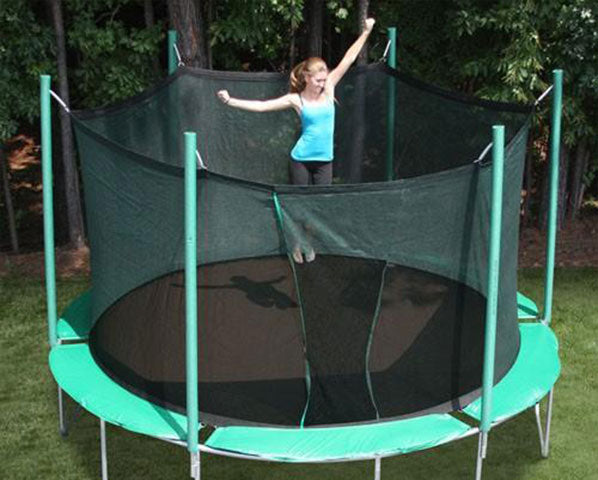Sports Tramp Extreme 13.5' Round Trampoline with Detachable Safety Enclosure