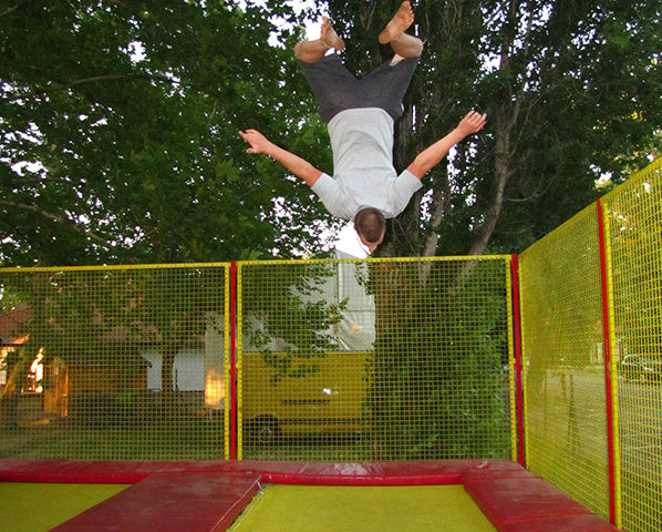 Square Trampolines- a Different Bounce Style