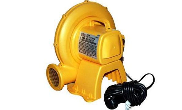 yellow powerful air pump blower for bounce house