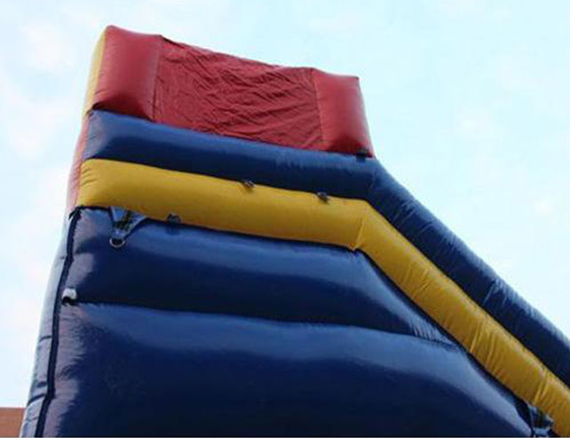a portion of the commercial inflatable slides