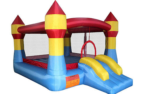 residential bounce house with slides for sale
