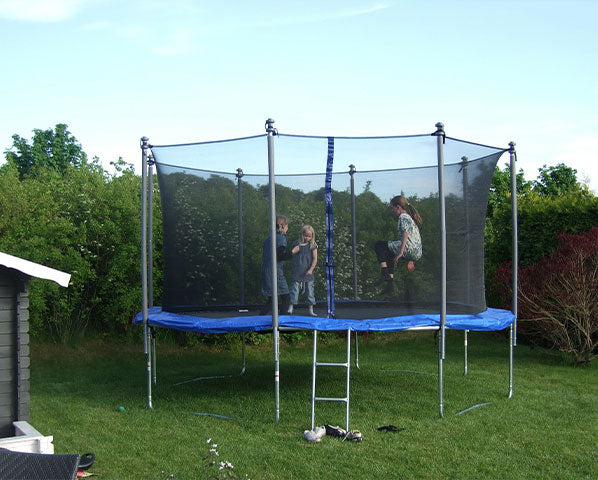 Use Safety Pads and Nets