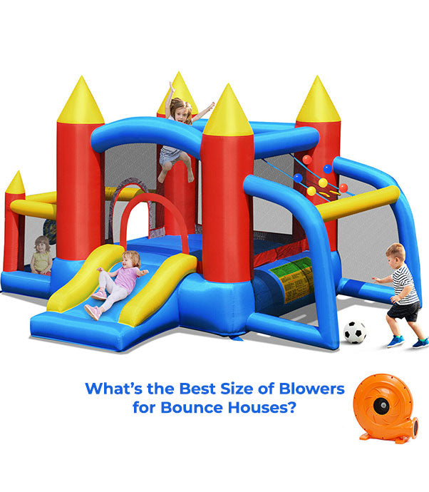 find the best air blower for your large bounce house