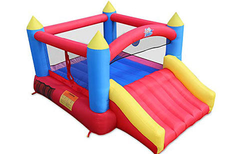 red residential bounce houses for sale