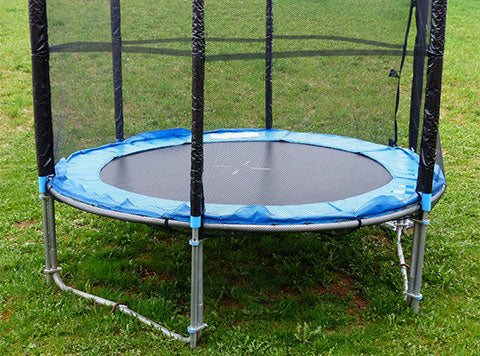 small round shape trampoline for kids
