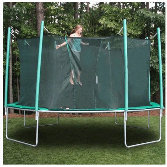 medium size round shape trampoline for adults