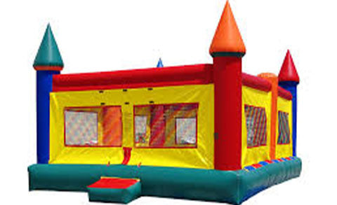 What's the bounce house's capacity?