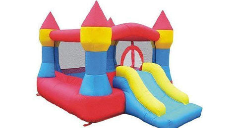 residential bouncer with slide