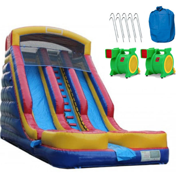commercial grade inflatable water slides with blower