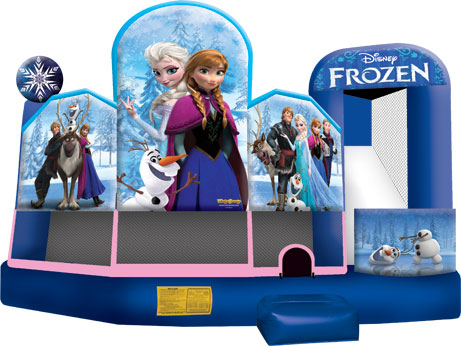 Frozen themed inflatable party
