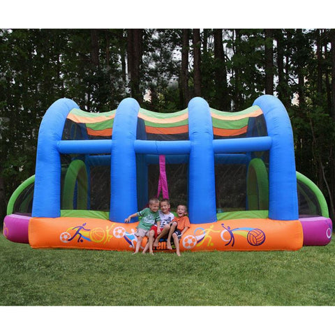 Water inflatable slides Kidswise