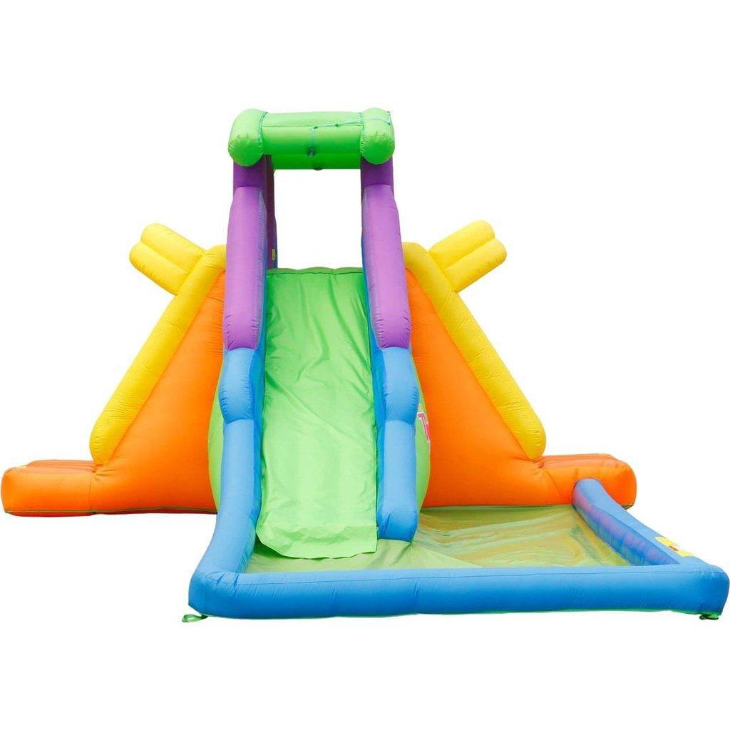 KidWise Dueling 2 Back to Back Inflatable Water Slide
