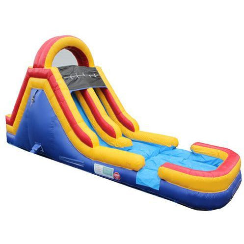 bounce house with slider in our store