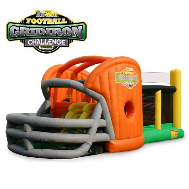 KidWise Gridiron Football Challenge Commercial Bounce House