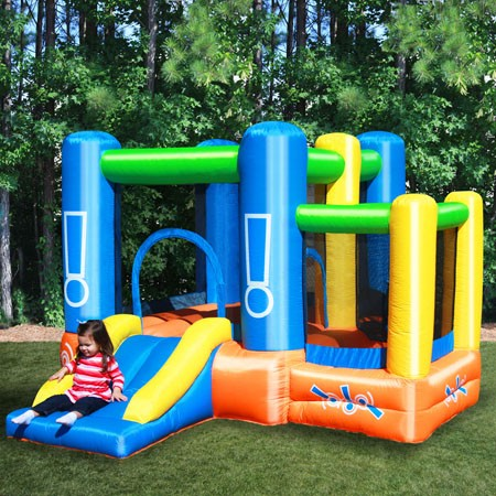 Little Star Bounce House - Inflatable with Ball Pit - backyardplaystore