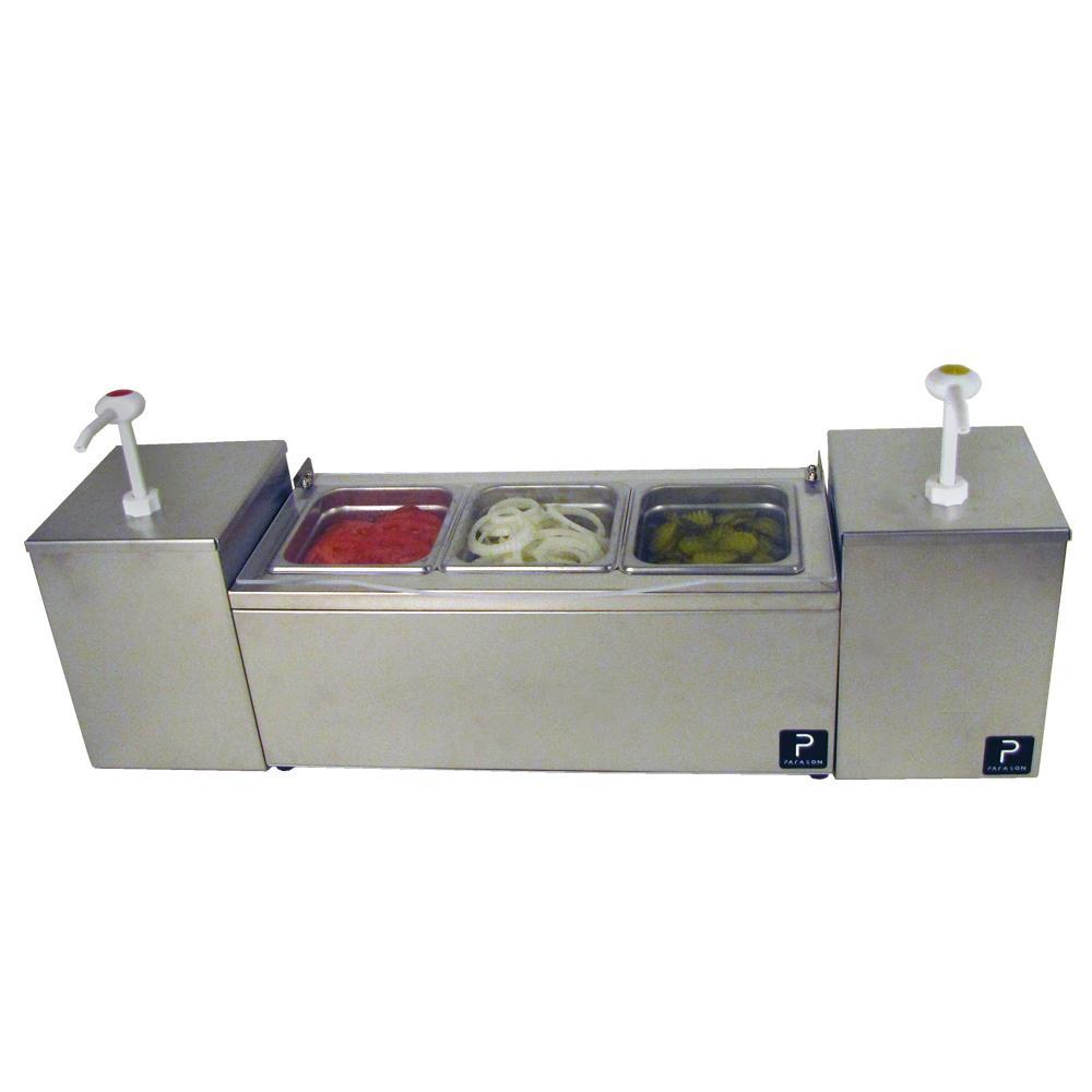 Pro-Series Condiment Server with Twin Pumps