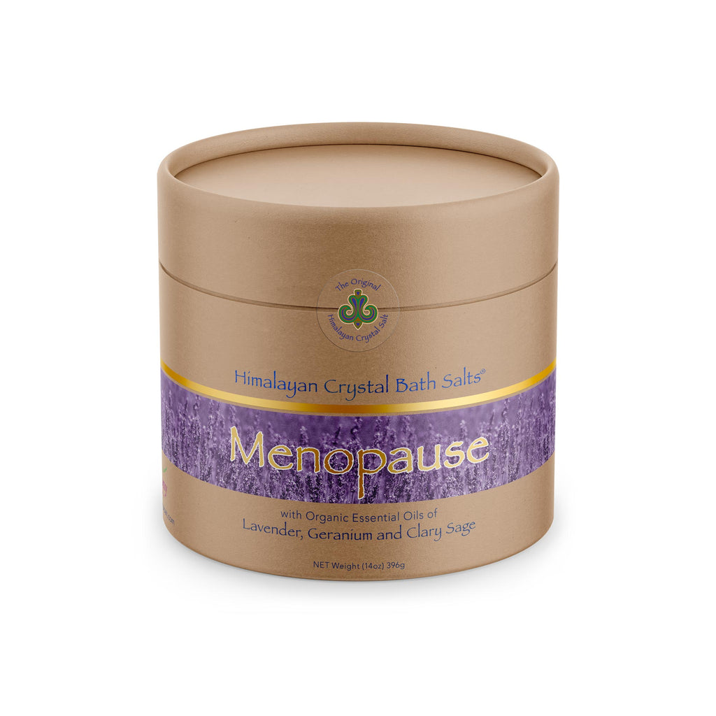 Menopause symptoms like hot flashes, night sweats, mood swings and more stressing you out? Look no further for a way to unwind. This mineral-rich, soothing bath blend helps ease aches and pains, calm the mind, and may promote restful sleep. Relax with 100% organic lavender, germanium, and clary sage essential oils.