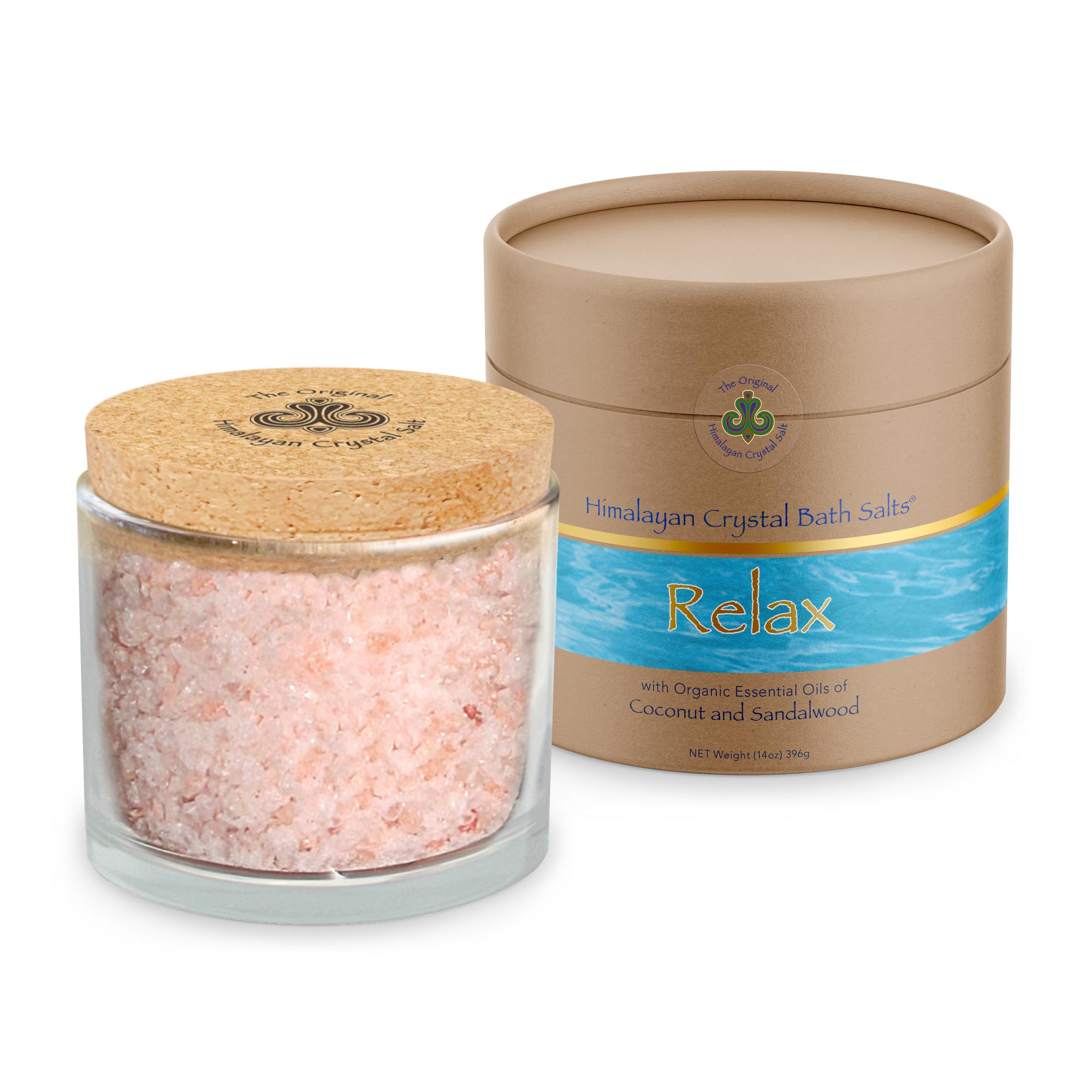 Let go of tension with our therapeutic Relax Bath Salts infused with 100% organic coconut and sandalwood essential oils. Rich with minerals, these bath crystals are perfect for hydrating skin and relaxing your entire body.
