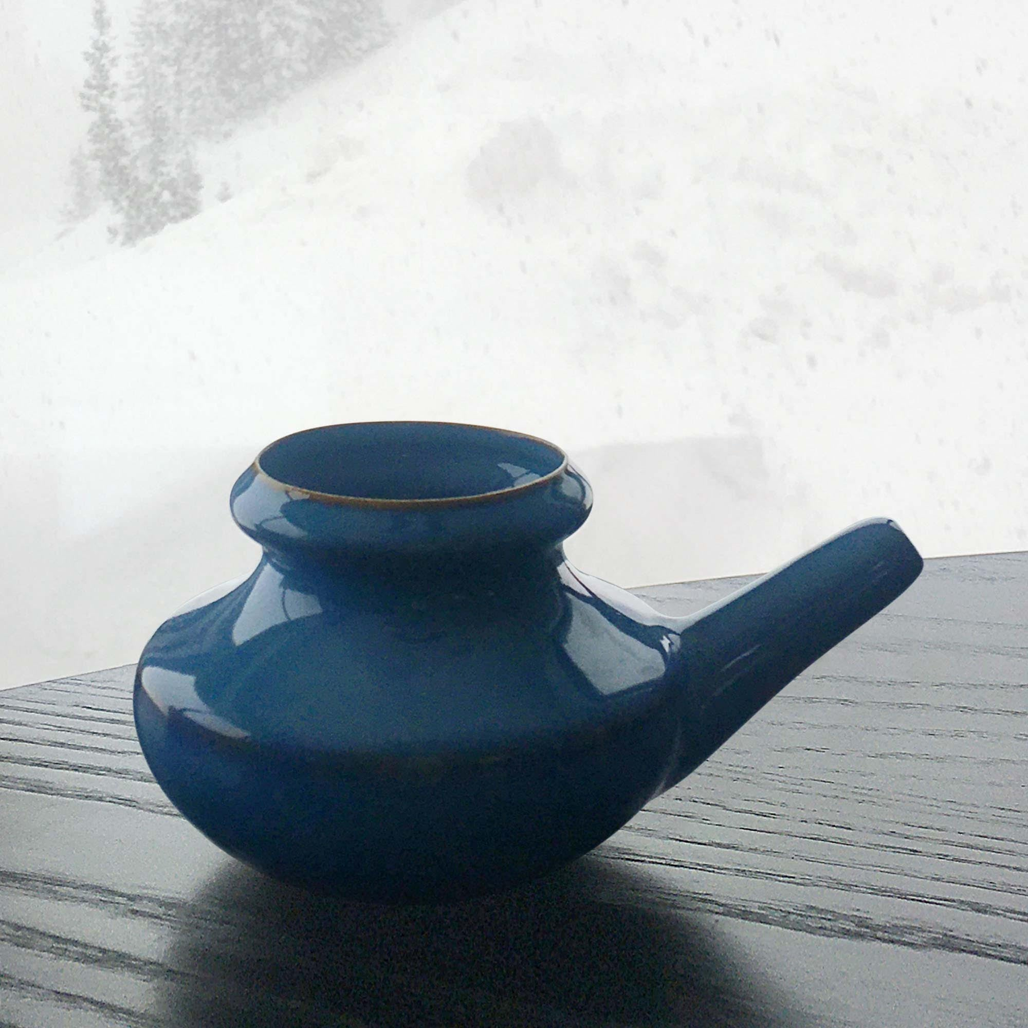 Dusk Blue Neti Pot