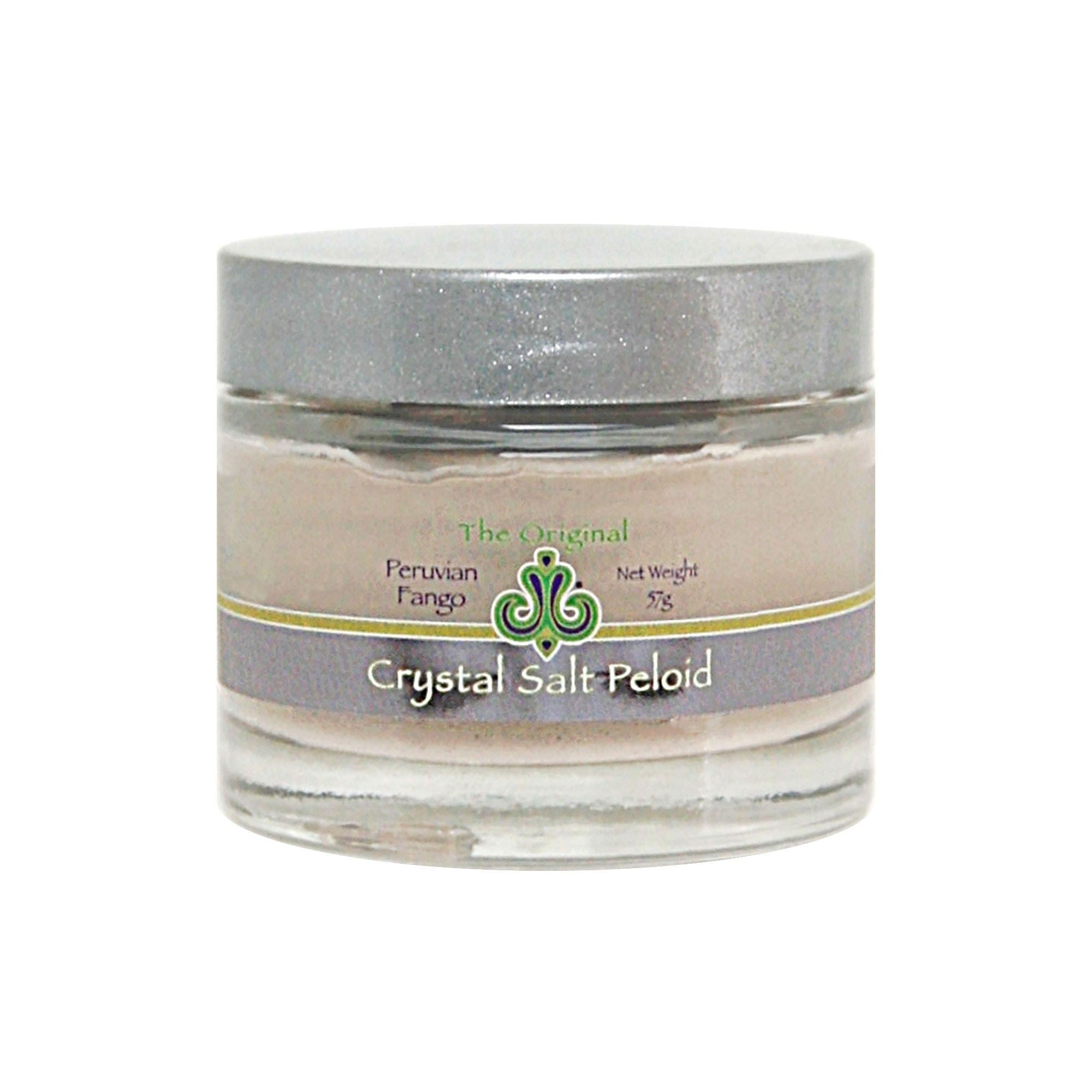 Peloid Mud Mask with Peruvian Fango and Sole Himalayan Salt Water