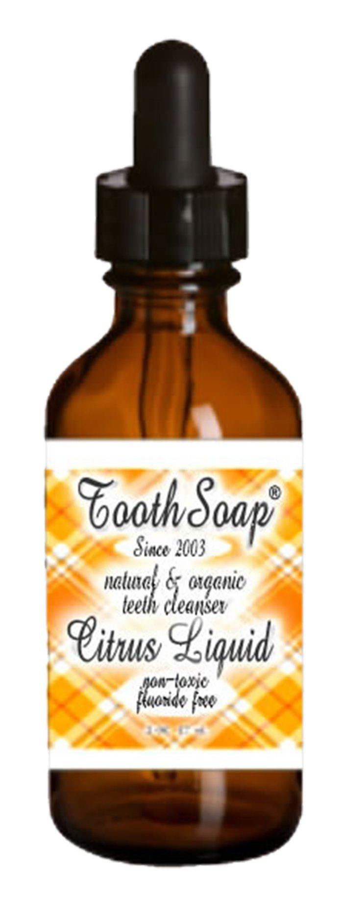 Citrus Tooth Soap natural toothpaste alternative