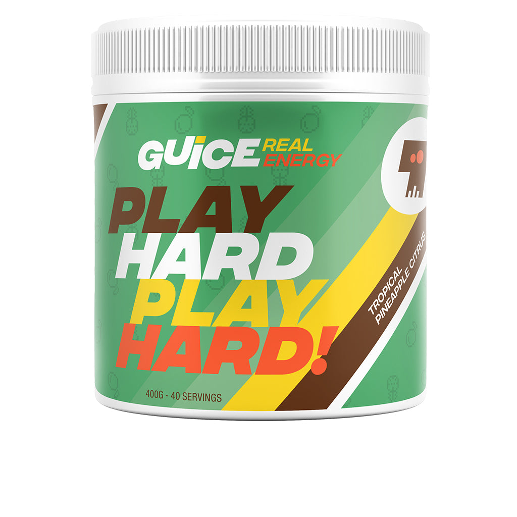 PLAY HARD PLAY HARD!<br>(Tropical Pineapple Citrus)