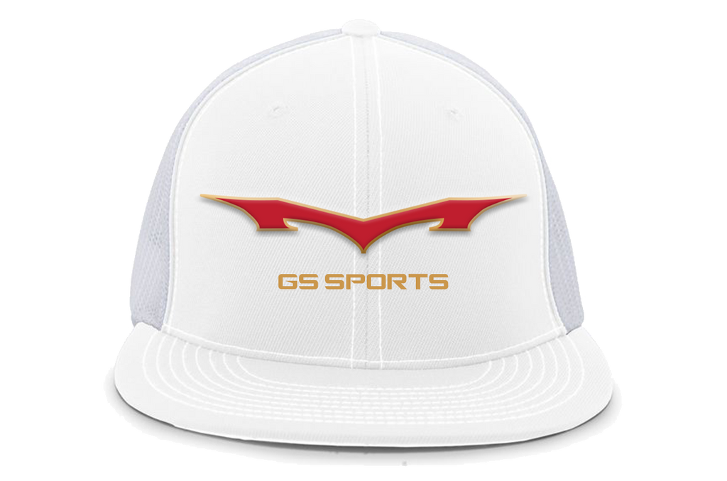 GS Sports Monsta RoTK Flatbill Hat - White