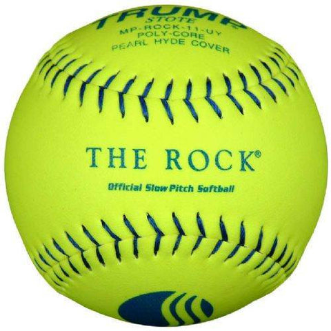 Trump MP-ROCK-11-UY The Rock Series 11 inch 44/400 USSSA Composite Leather Softball Womens