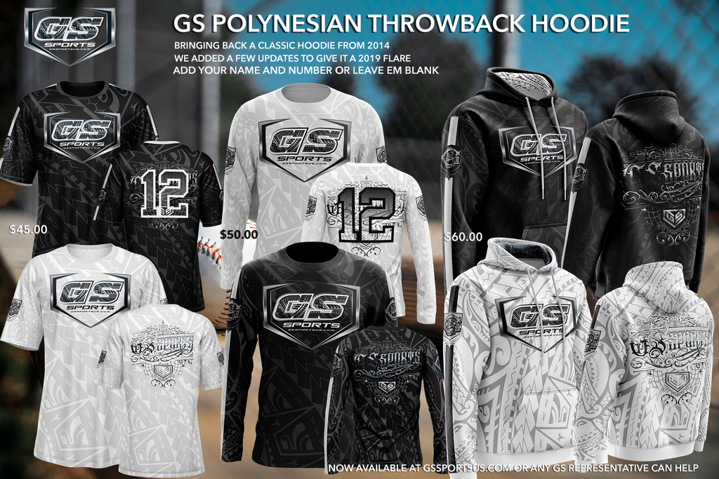 GS Sports Polynesian Throwback Buy In (customizable)