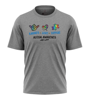 GSP Kindness Love Support Autism Awareness Tee