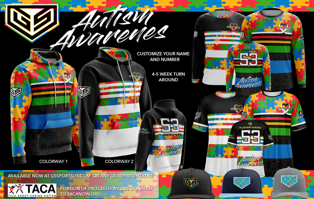 2020 GS Sports Autism Awarenesss Buy In (customizable)