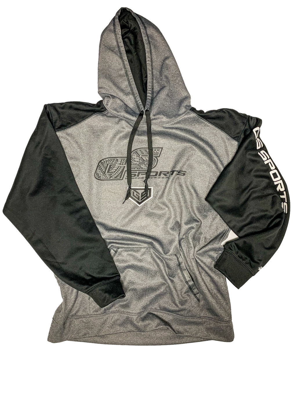 GS Sports OG Tribal Hoodie - Charcoal / Black