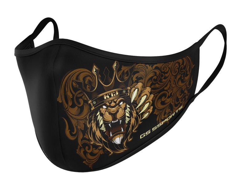 GSP Dual Layer Mask with Filter Pocket - KTJ King of the Jungle