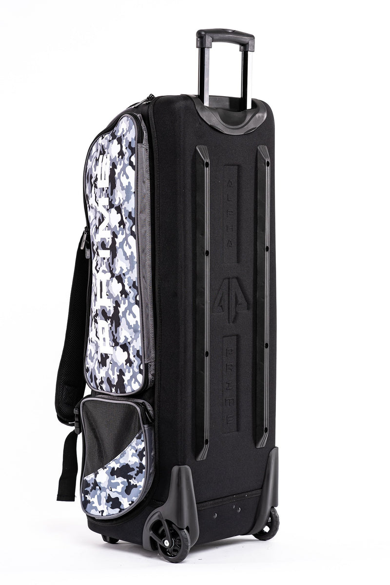 Alpha Prime Roller Bag - White/Camo