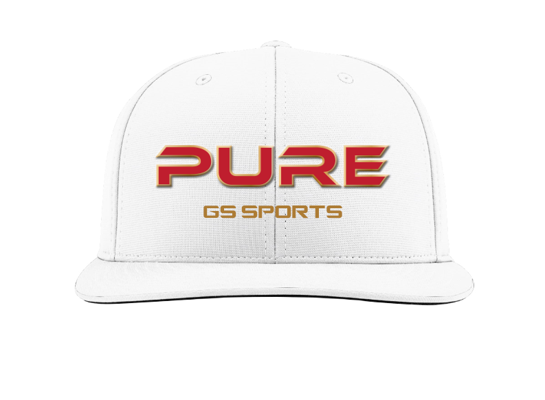 GS Sports Pure RoTK Flatbill Hat - White