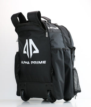 Alpha Prime Series Roller Bat Backpack - Black