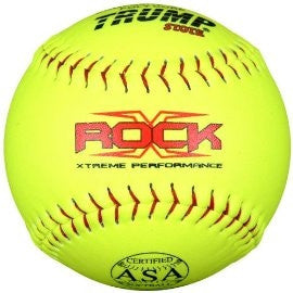Trump X-ROCK 52/300 ASA 12in Composite Leather Softball (sold by dozen)